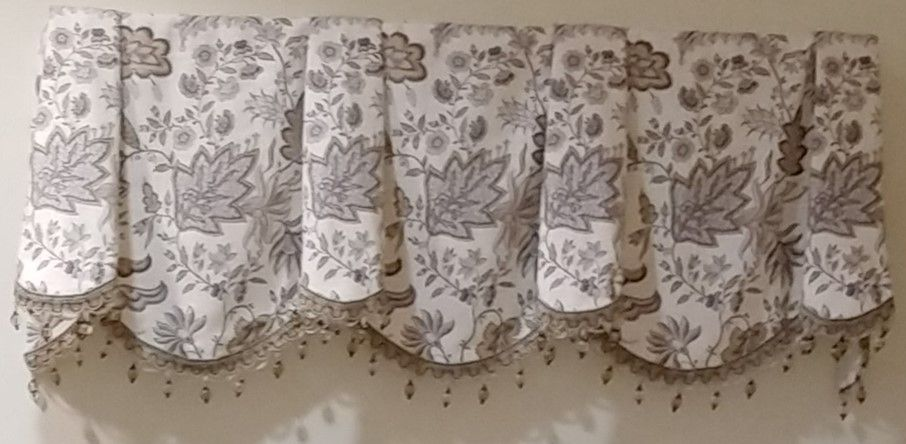 window top cloth valance
