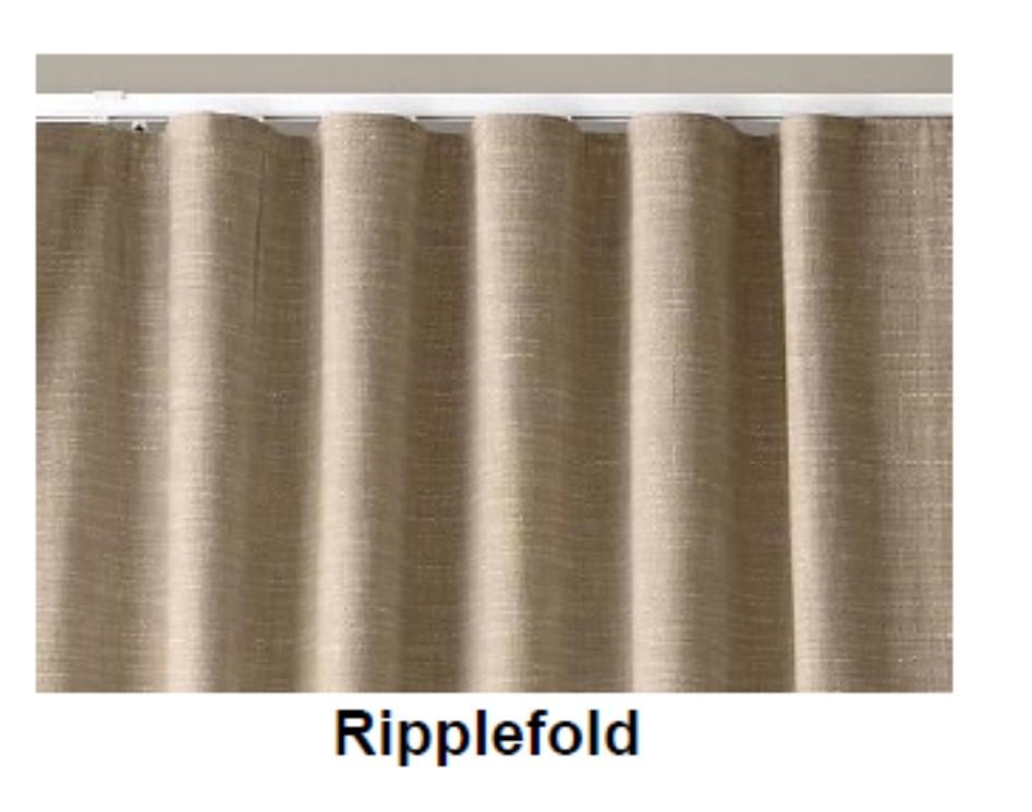curtain on a rod