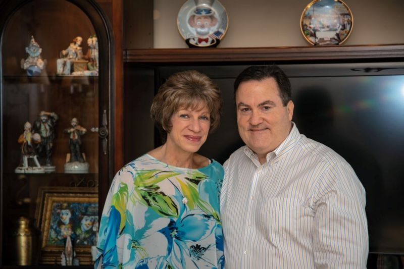 Kathy and David portrait