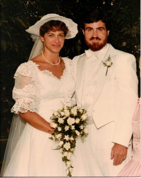 David and Kathy wedding photo